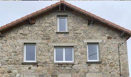 Pose de fenêtres PVC Cusset