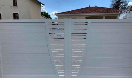 Portail PVC Cusset