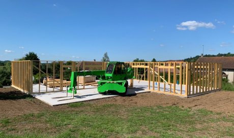 Entreprise de construction de maison ossature bois Cusset