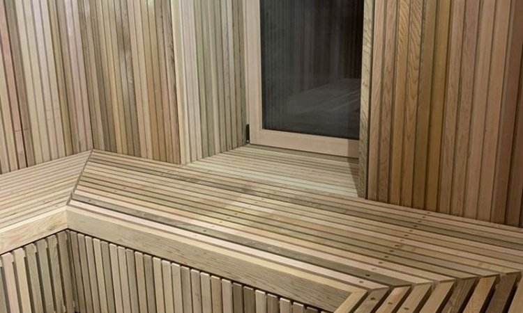 Installation sauna Cusset